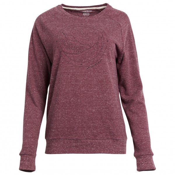 United By Blue - Women´s Polaris Crew Pullover rouge/rose