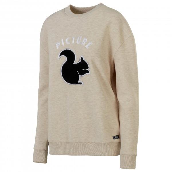 Picture - Women´s Animal - Pullover Gr S grau/beige Preisvergleich