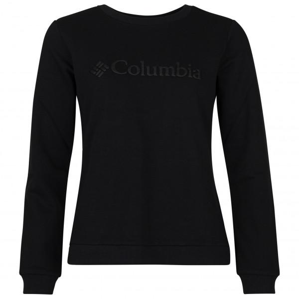 Columbia - Women's Columbia Logo Crew - Pullover Gr M schwarz 1895741010M