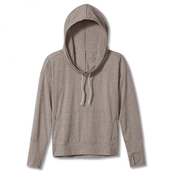 royal robbins - women's bug barrier round trip drirelease hoody - hoodie maat l, grijs