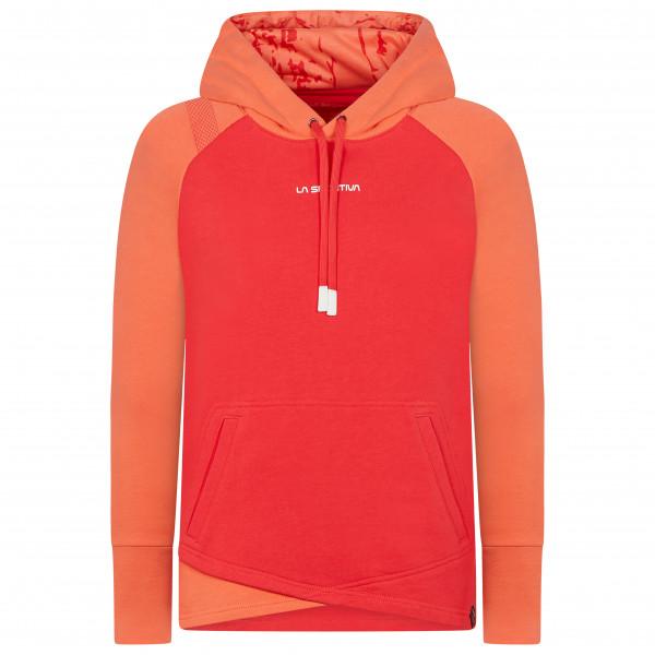 La Sportiva - Womens Stoke Hoody Size M  Red/orange