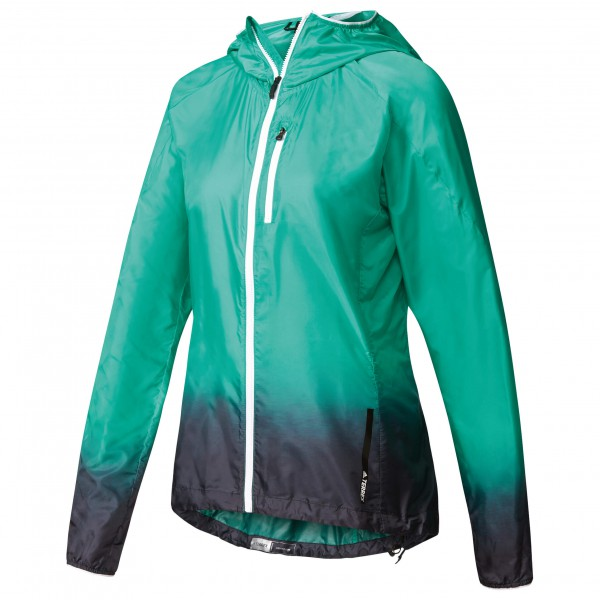 adidas Women´s Terrex Agravic Windjacket Windjack maat 40 turkoois-zwart