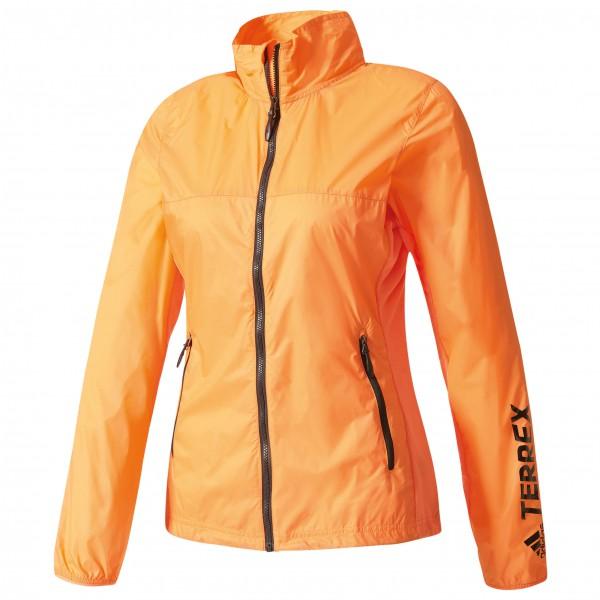 adidas Women´s Terrex Summerlight Jacket Windjack maat 34 oranje-beige