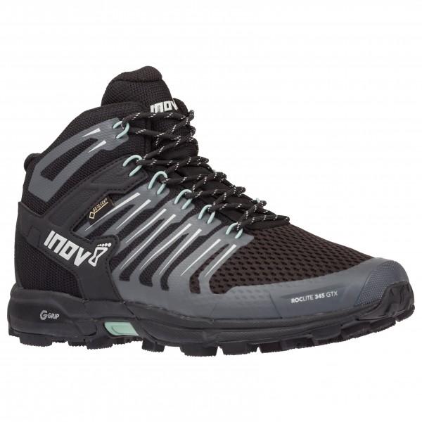 inov-8 - women's roclite g 345 gtx - wandelschoenen maat 8,5, zwart