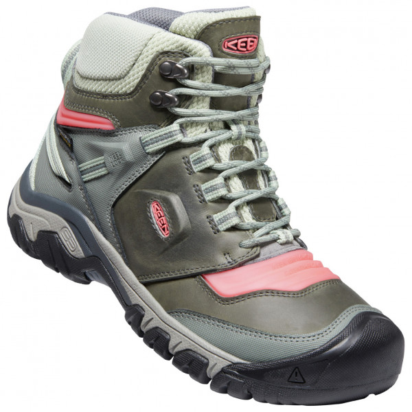 Keen - Womens Ridge Flex Mid Wp - Walking Boots Size 8 5  Grey