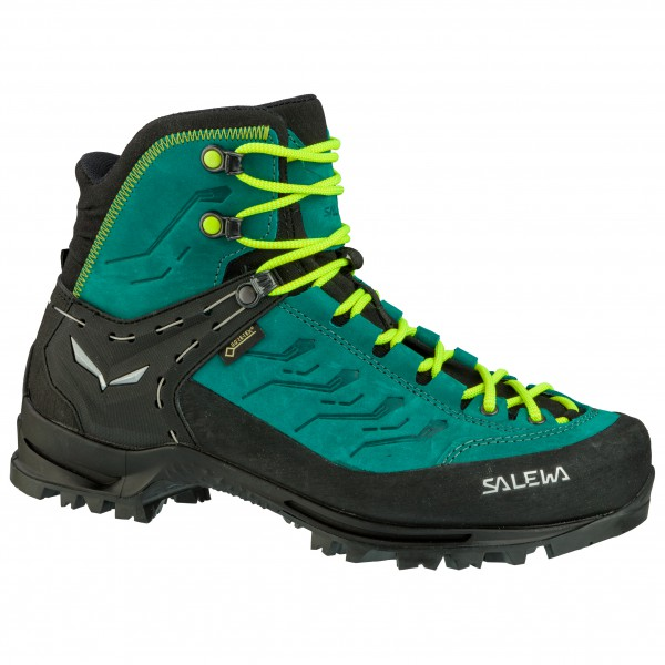 Salewa - Womens Rapace Gtx - Mountaineering Boots Size 5 5  Turquoise