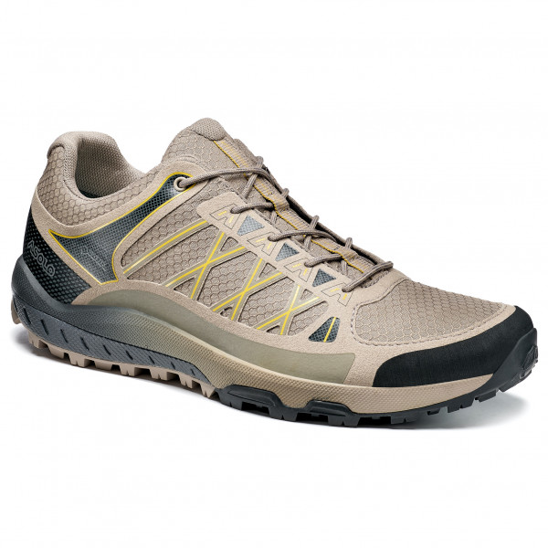 Asics - Womens Gel-fujitrabuco 7 - Trail Running Shoes Size 7  Black/red