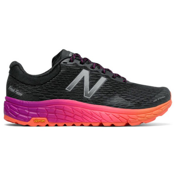 New Balance - Women's Trail Fresh Foam Hierro v2 Gr 9 schwarz/rot