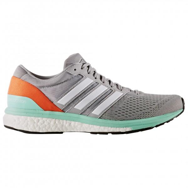 adidas Women´s Adizero Boston 6 Trailrunningschoenen maat 4,5 grijs-oranje