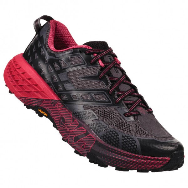 Hoka One One Women`s Speedgoat 2 (6, nero/lilla)