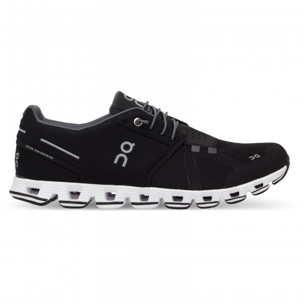 On - Womens Cloud - Running Shoes Size 38 5  Black