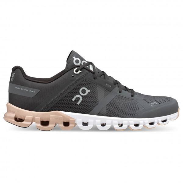 On - Womens Cloudflow - Running Shoes Size 36 5  Black/grey