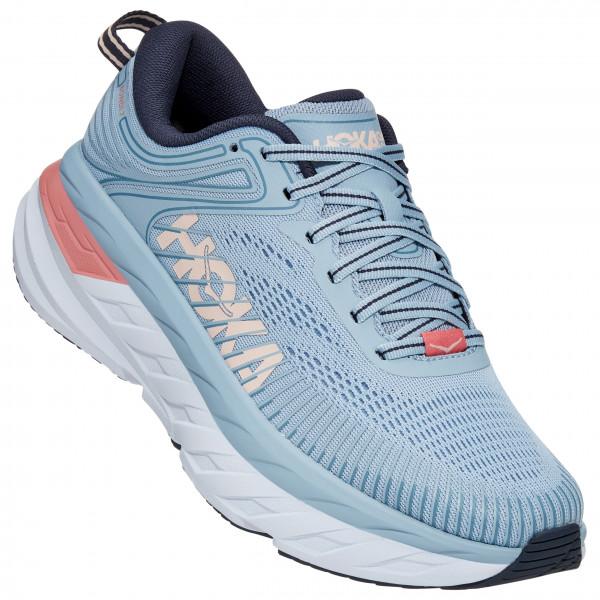 Hoka One One - Womens Bondi 7 - Running Shoes Size 10 - Regular  Grey