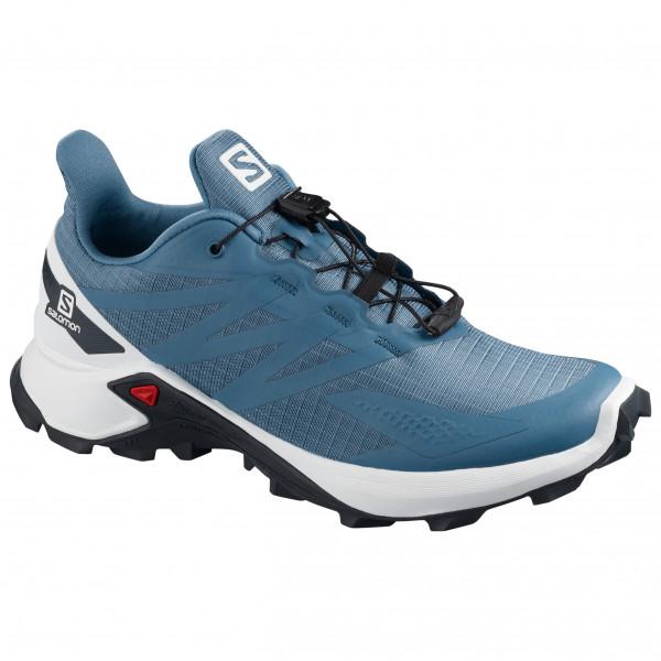 Salomon - Womens Supercross Blast - Trail Running Shoes Size 6 5  Blue