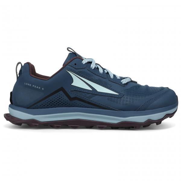 Altra - Womens Lone Peak 5 - Trail Running Shoes Size 10  Blue/black/grey