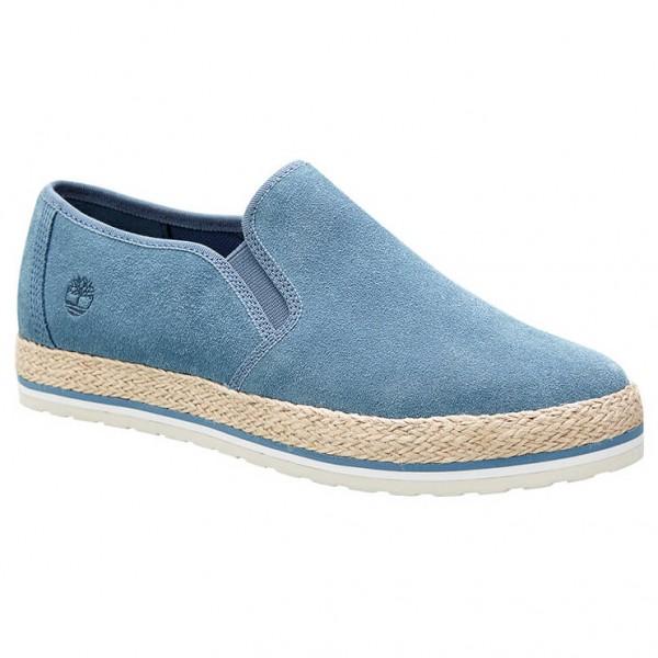 Timberland - Women´s Eivissa Sea Leather Slip-On - Sneaker Gr 11 blau Preisvergleich