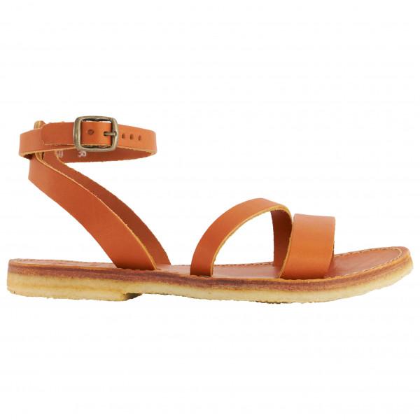 Duckfeet - Womens Skaerbaek - Sandals Size 37  Orange/brown/sand