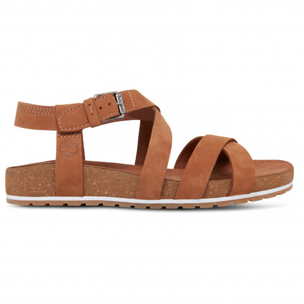 Timberland - Womens Malibu Waves Ankle Strap Sandal - Sandals Size 7  Brown