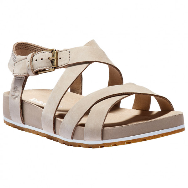 Timberland - Womens Malibu Waves Ankle Strap Sandal - Sandals Size 9  Sand/brown