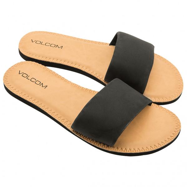 volcom - women's simple slide sndl - sandalen maat 8, beige