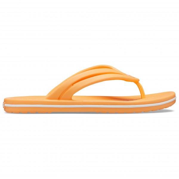 Crocs - Women's Crocband Flip - Sandalen, beige/oranje