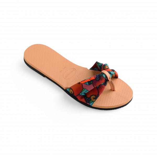 Havaianas - Womens You Saint Tropez - Sandals Size 37/38  Sand