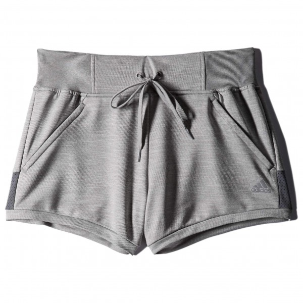 Adidas Women´s Beyond The Run Short Joggingbroek maat 40, grey