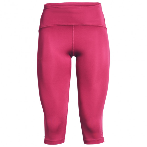 Under Armour - Womens Ua Fly Fast Speed Capri - Running Tights Size L  Pink