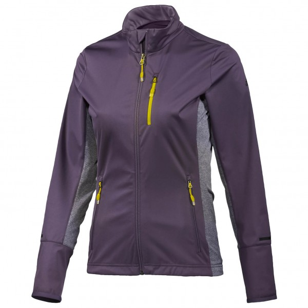 Adidas Women´s Xperior Jacket Joggingjack maat 38, purple- raw ochre