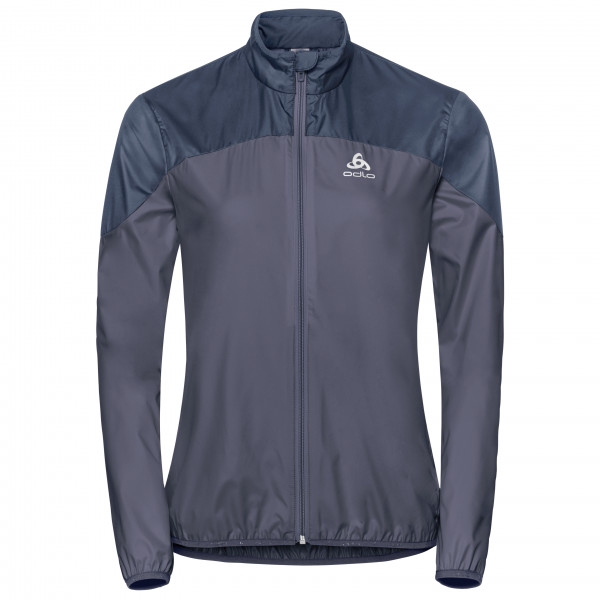 Light Jacket Women`s De Veste Odlo S Bleu Core Running Taille 4x1WR