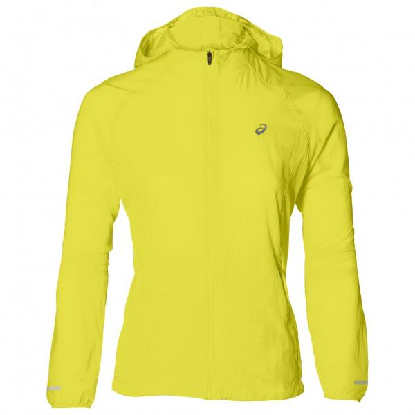 Asics - Women´s Packable Jacket - Laufjacke Gr L;M;S;XL;XS schwarz;gelb Preisvergleich