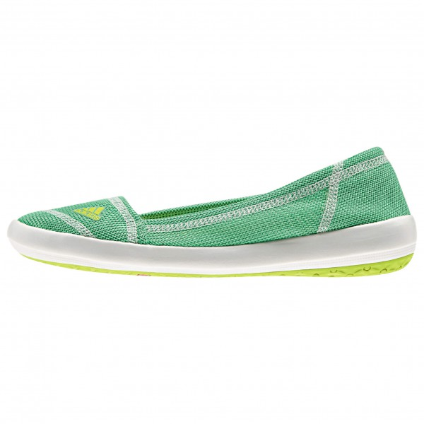 Adidas Women´s Boat Slip-On Sleek Watersportschoenen maat 8, semi solar yellow -white