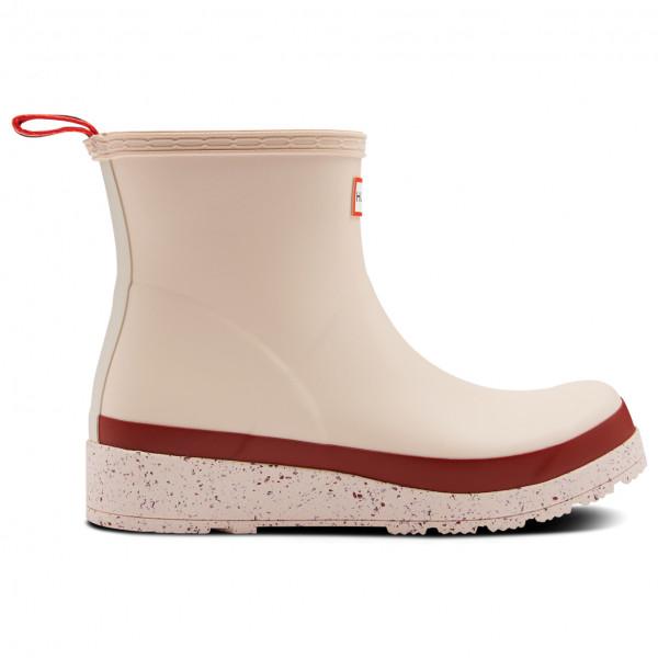 Hunter - Women's Play Short Speckle Sole Wellington Boots - Gummistiefel 42 | EU 42 beige WFS2082RMA
