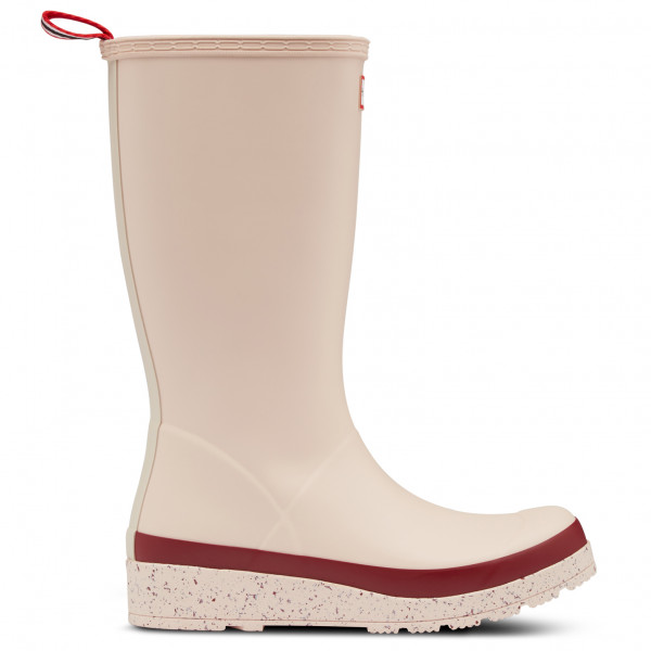 Hunter - Women's Play Tall Speckle Sole Wellington Boots - Gummistiefel 36 | EU 36 beige WFT2079RMA