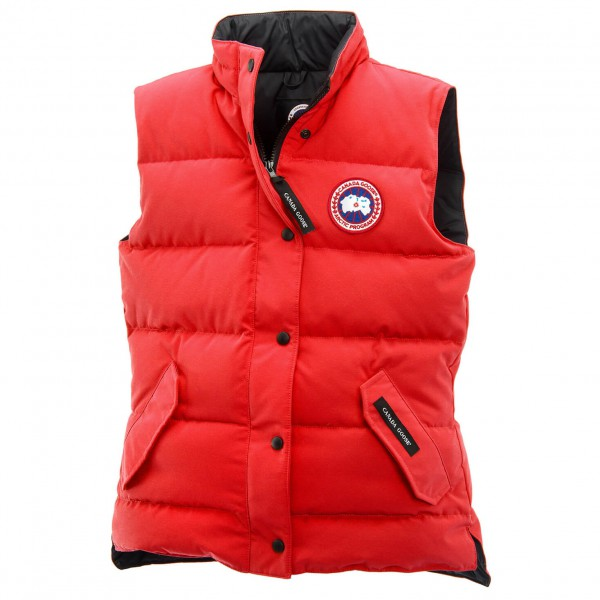 Canada Goose - Women´s Freestyle Vest - Winterweste Gr XS rot Preisvergleich