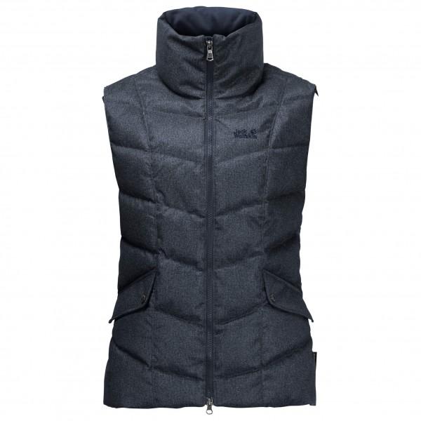 Jack Wolfskin Baffin Bay Vest Women Donzen bodywarmer maat XS zwart