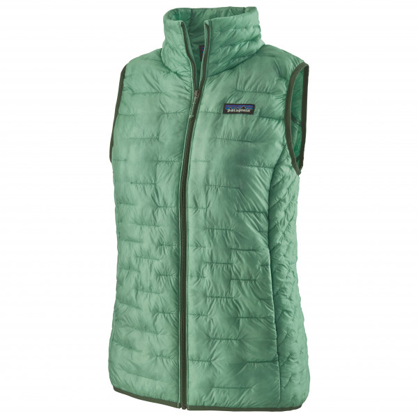 Patagonia - Womens Micro Puff Vest - Synthetic Vest Size Xs  Green/olive