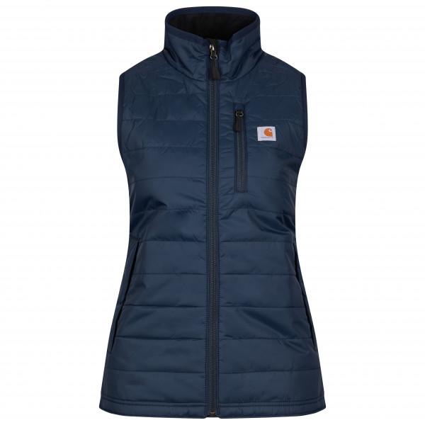 Carhartt - Womens Gilliam Vest - Synthetic Vest Size Xs  Blue/black