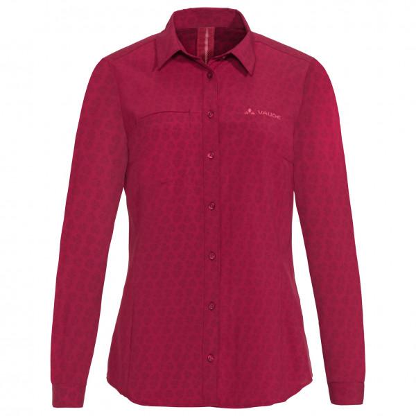Vaude - Women's Rosemoor L/S Shirt - Bluse Gr 36;38;40;42 rot/rosa 41313