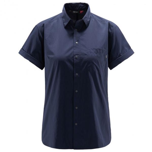 #Haglöfs – Women's Idun Lite S/S Shirt – Bluse Gr M schwarz/blau#