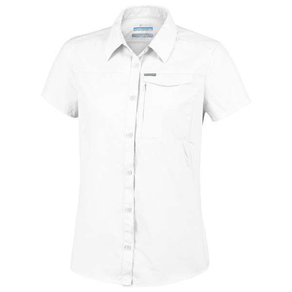 Columbia - Womens Silver Ridge 2.0 Short Sleeve - Blouse Size Xs  White