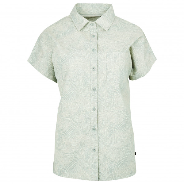 United By Blue - Women's Natural S/S Button Down - Bluse Gr S weiß/grau 201-162-15924