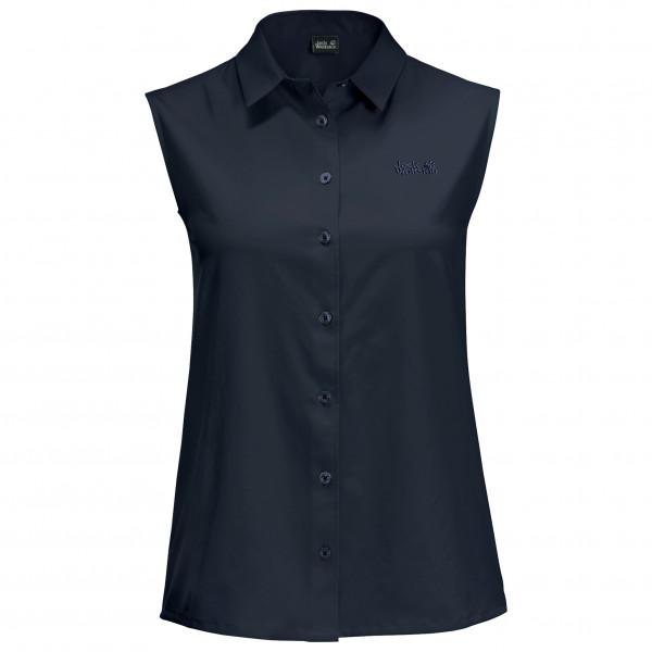 Jack Wolfskin - Womens Sonora Sleeveless Shirt - Blouse Size Xs  Black