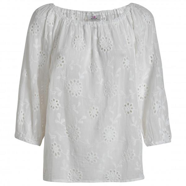#Deha – Women's Blusa Sangallo – Bluse Gr M grau#