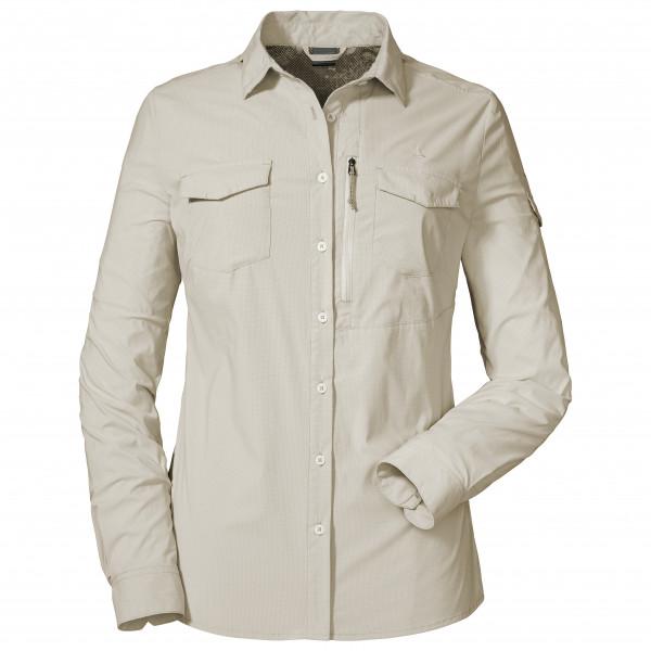 *Schöffel – Women's Blouse Schwangau2 – Bluse Gr 38 grau/weiß*