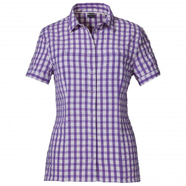#Schöffel – Women's Blouse Walla Walla3 – Bluse Gr 46 grau/lila#