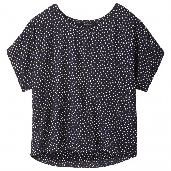 recolution - Women's Ecovero Blouse Dots - Bluse Gr M schwarz/grau W121-E06-F01-M