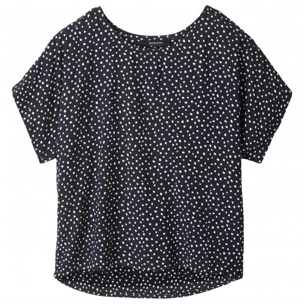 recolution - Women's Ecovero Blouse Dots - Bluse Gr L;M;S;XL;XS schwarz/grau W121-E06-F01