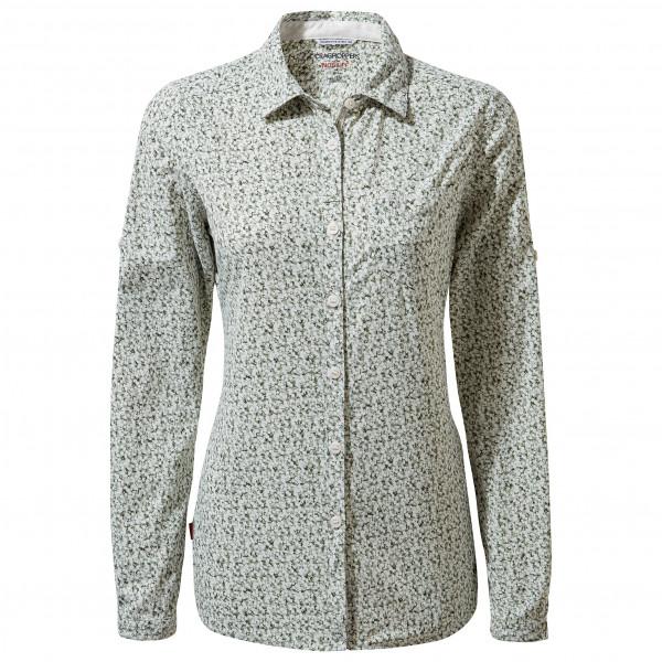 Craghoppers - Women's Nosilife Fara L/S Shirt - Bluse Gr 38 grau CWS504   H8N12L
