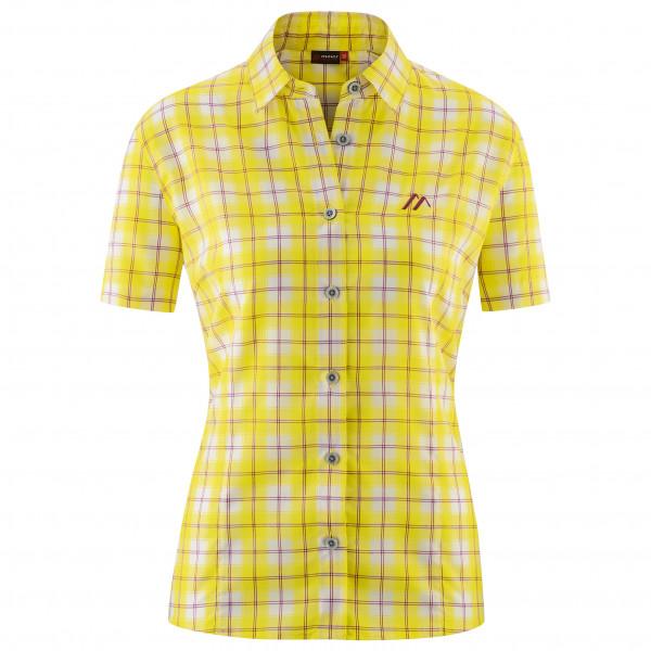 Maier Sports - Womens Philina - Blouse Size 40  Yellow/orange/sand